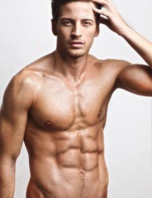 muž roku 2013 model Antonín Beránek
