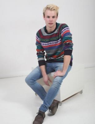 model Michael Č.