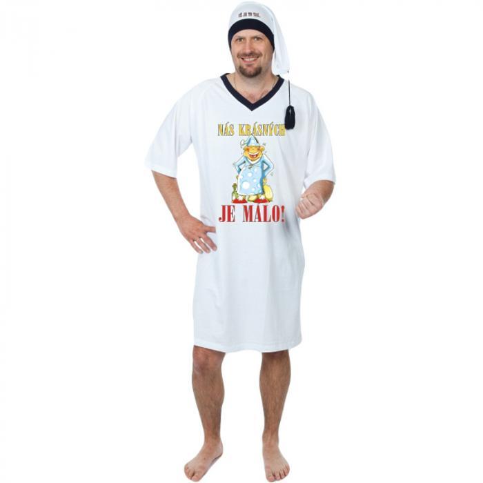 I vtipná noční košile může muže k Vánocům potěšit.