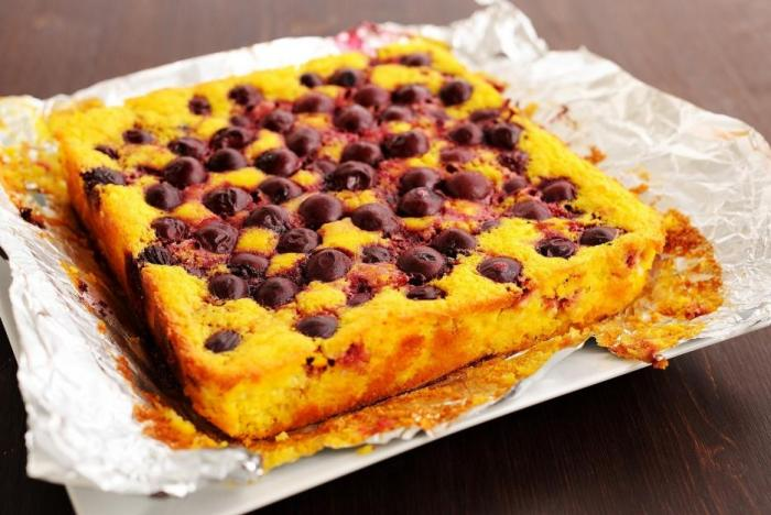 Pečený tvaroh je takový tvarohový koláč bez těsta.