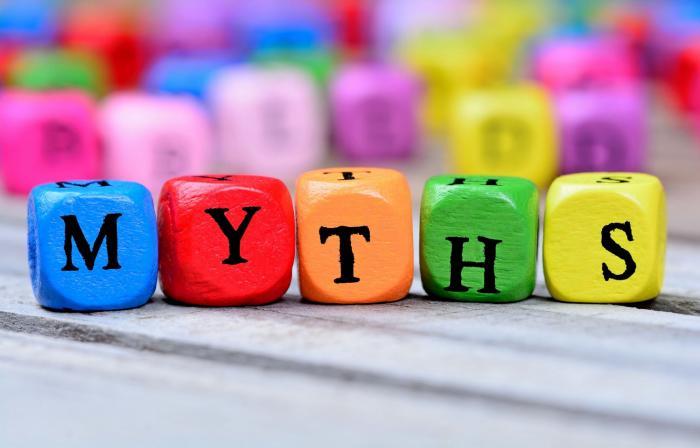 Některé mýty fakt stojí za to a lidi jim stejně věří.