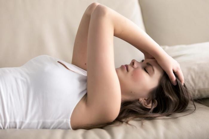 Slabá menstruace může značit zdravotní problém.