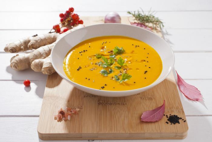 Dýňová polévka zasytí a je zdravá.