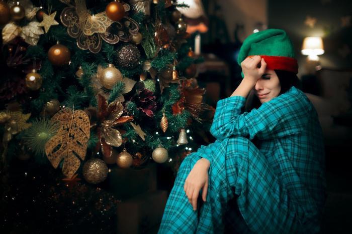 Samota na Vánoce není nic příjemného.