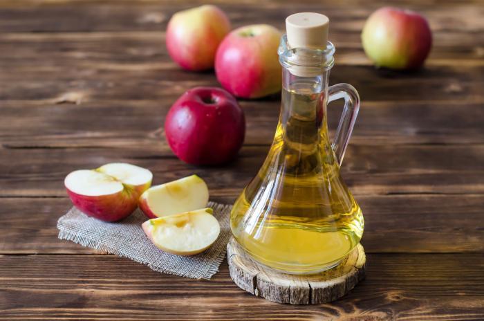 Jablečný ocet je zdravý a podporuje hubnutí.