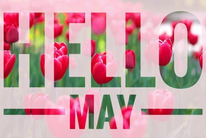 Květen je tady! Co nás v něm čeká?