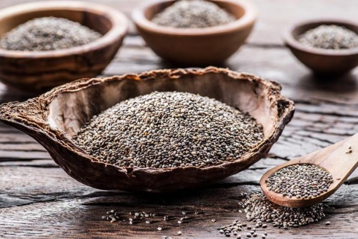 Chia semínka pomáhají s krevním tlakem i cukrem.