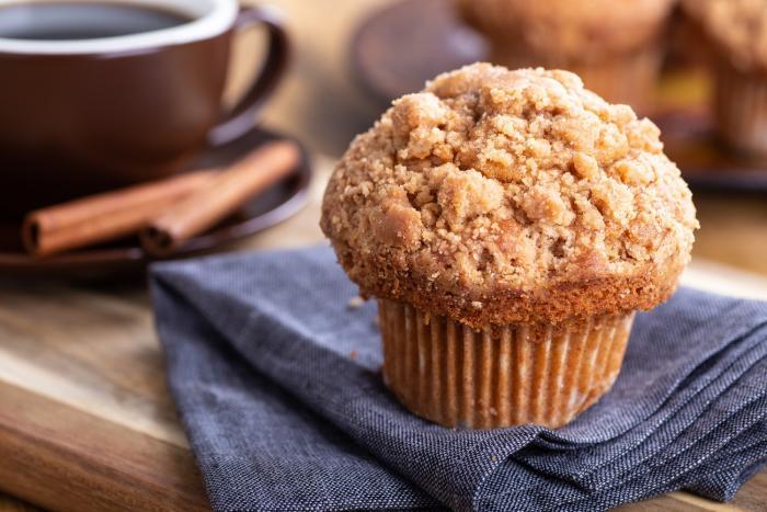 Muffiny jsou extrémně jednoduché a dokonale chutné.