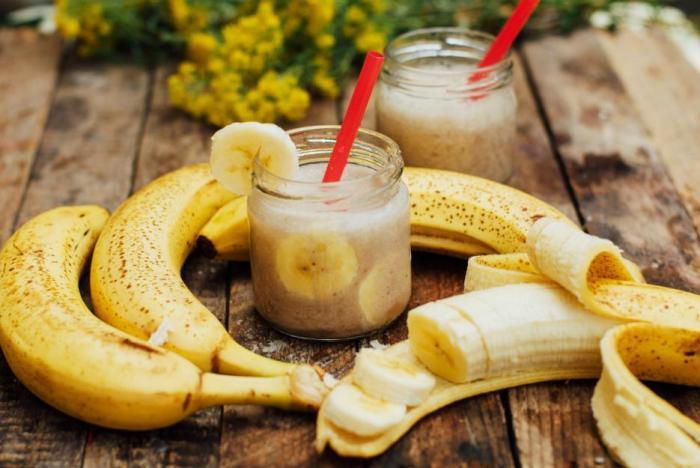 Banány jsou skvělým zdroje energie.