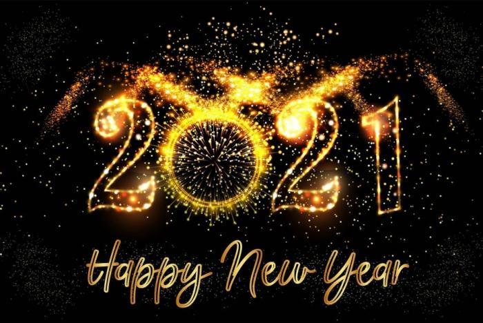Šťastný rok 2021!