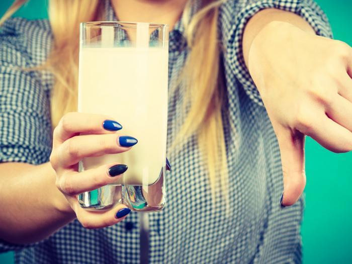 Intolerance laktózy není totéž co alergie na mléko.