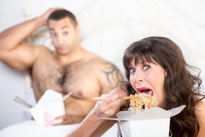 Zvuky vydávané při jídle jsou skutečně nechutné.