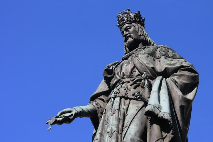 Karel IV. byl český král a císař Svaté říše římské
