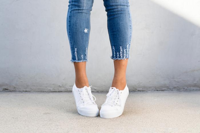 Bílých bot se neboj, dají se dobře vyčistit!