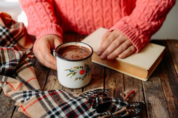 Poctivé kakao je jedním ze způsobů, jak se příjemně zahřát.