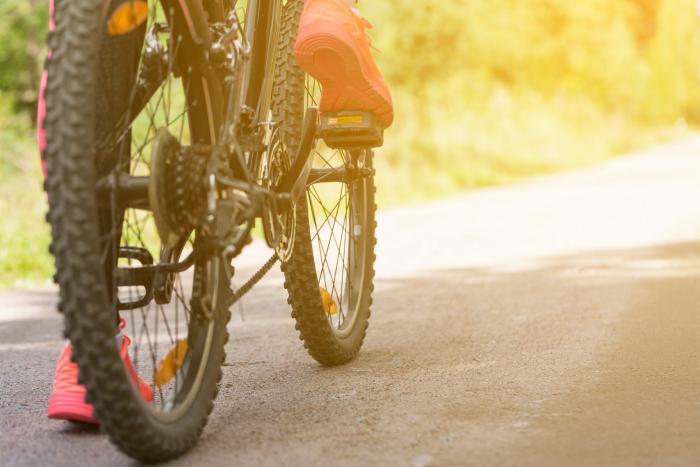 Jízda na kole je z mnoha důvodů zdraví prospěšná.