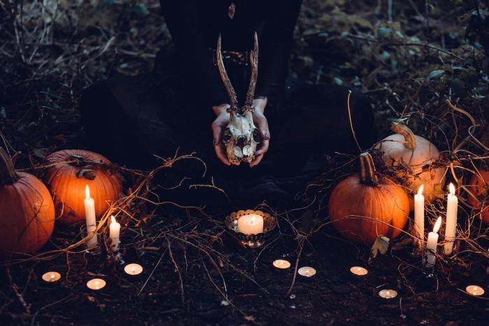 Halloween se slaví na konci října.