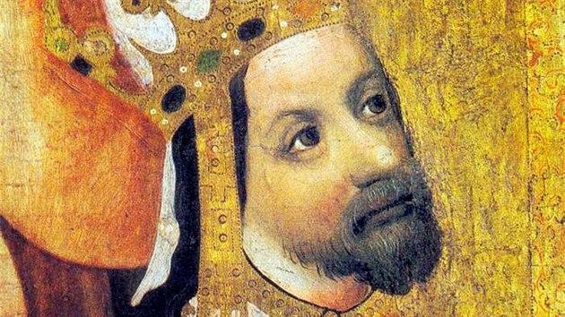 Karel IV. byl na portrétech silně retušován.