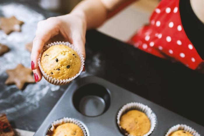 Příprava muffinů je jednoduchá.