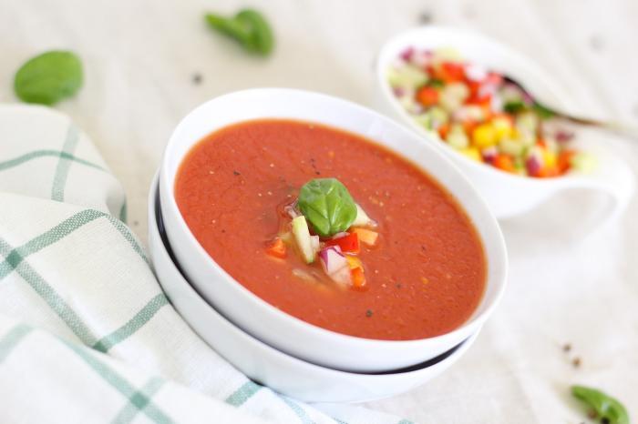 Studené gazpacho je oblíbené nejen ve Španělsku, odkud pochází.