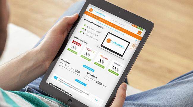 Díky aplikaci Plná peněženka se ti budou utracené peníze vracet.