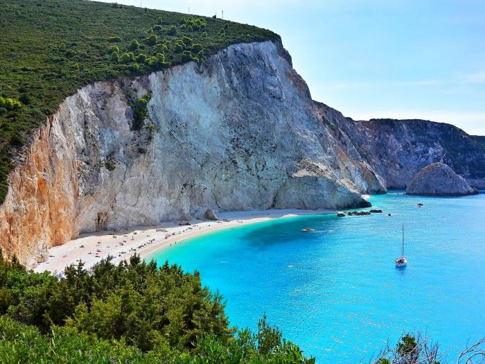 Lefkada má skutečně tak pěkné moře jako na fotkách.