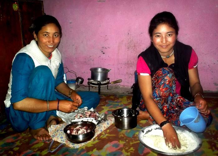 Indickou kuchyni je nejlepší poznat v rodině.