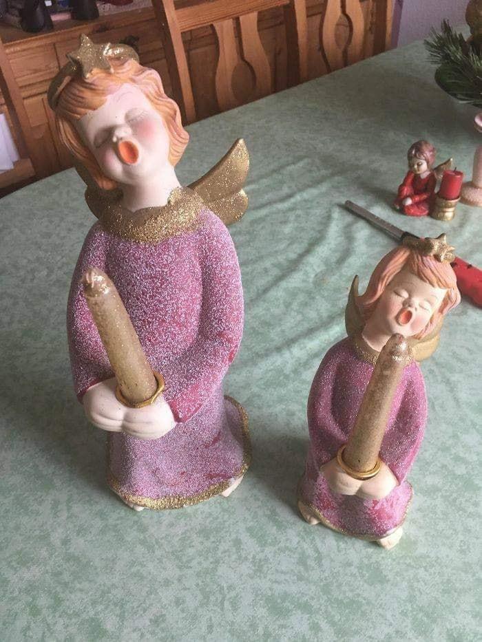 Andílci k Vánocům snad i patří, ale decentně!