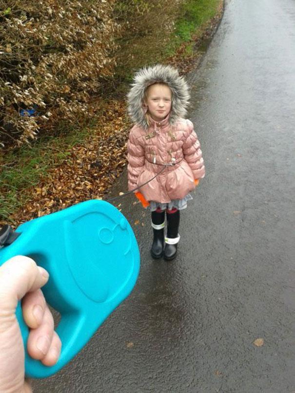 Dejte dítě na vodítko a bude to v pohodě.