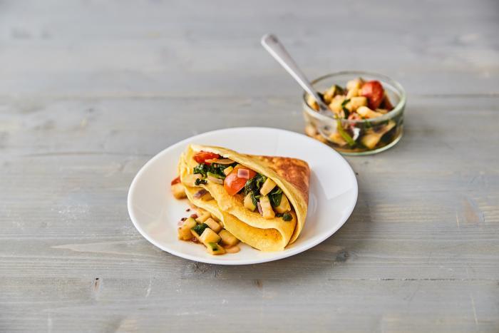 Zelenina a omeleta? Klidně! S KetoMixem jen s minimem sacharidů!