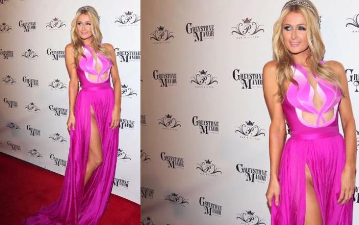"""Paris Hilton """"ohromila"""" svým vyholeným klínem."""