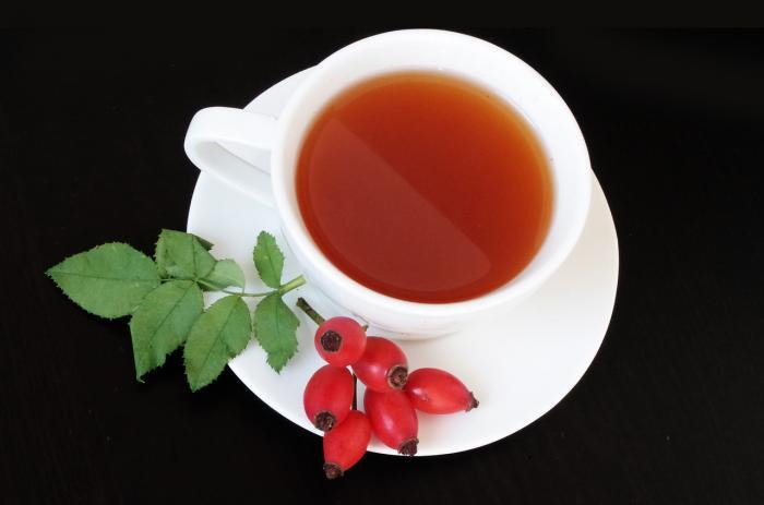 Šípkový čaj je nejrozšířenější způsob užívání.