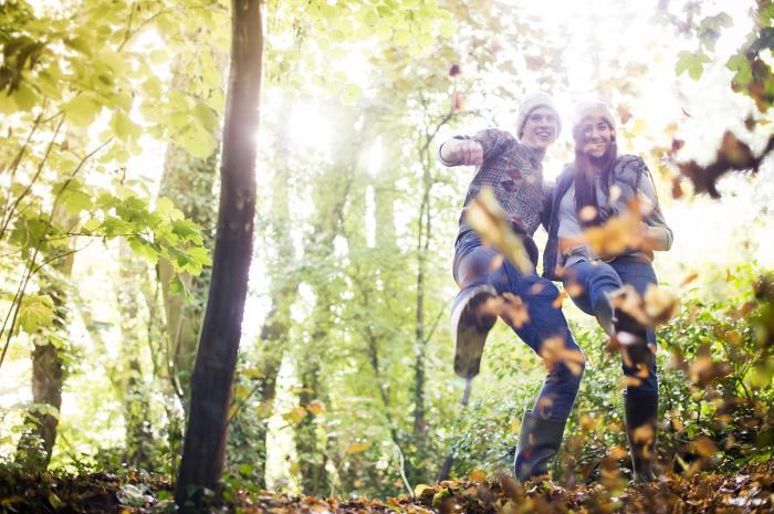 Jak dlouho jsi nebyla s partnerem v lese? V listopadu to naprav!