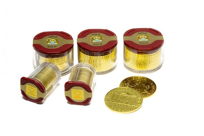 Zlaté slitky a zlaté mince můžou být dobrou investicí do budoucnosti.
