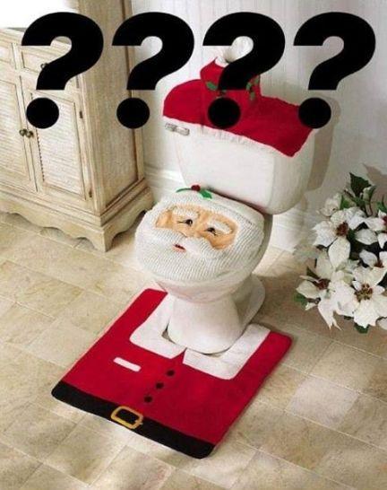 My v redakci jsme si vždycky přály Santu na záchodě.