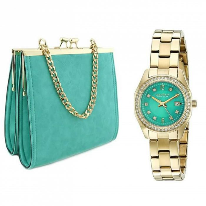Výrobci hodinek už dnes vyrábějí i kabelky. Můžeš si pořídit set.