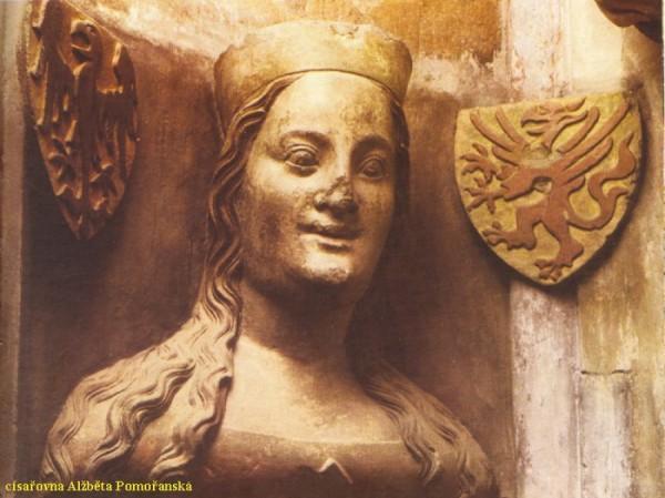 Alžběta Pomořanská byla poslední ženou Karla IV.