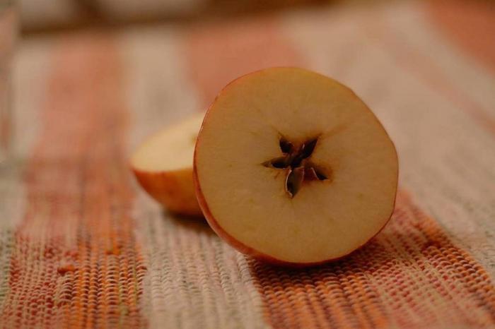 Jablka dokážou ledacos prozradit.