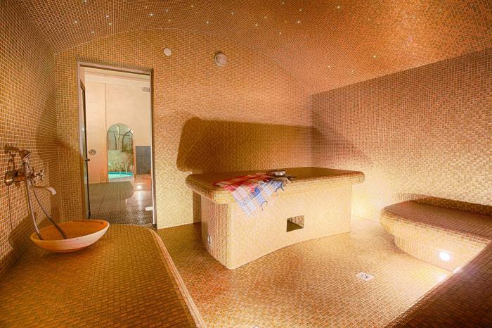 Jedním z druhů saun je ta turecká.