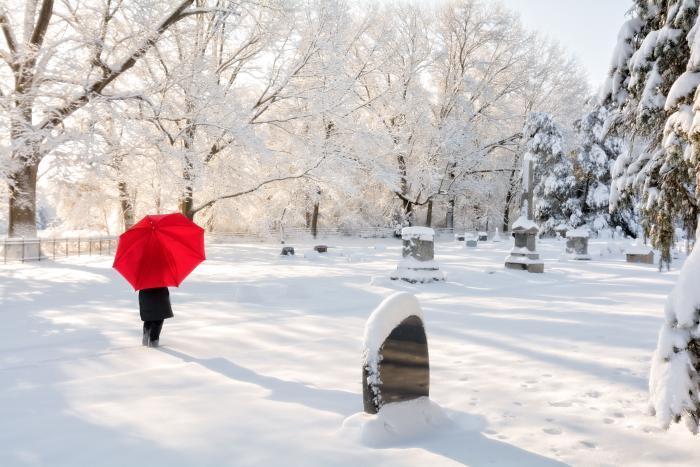 Smutek k Vánocům bohužel u spousty lidí patří.