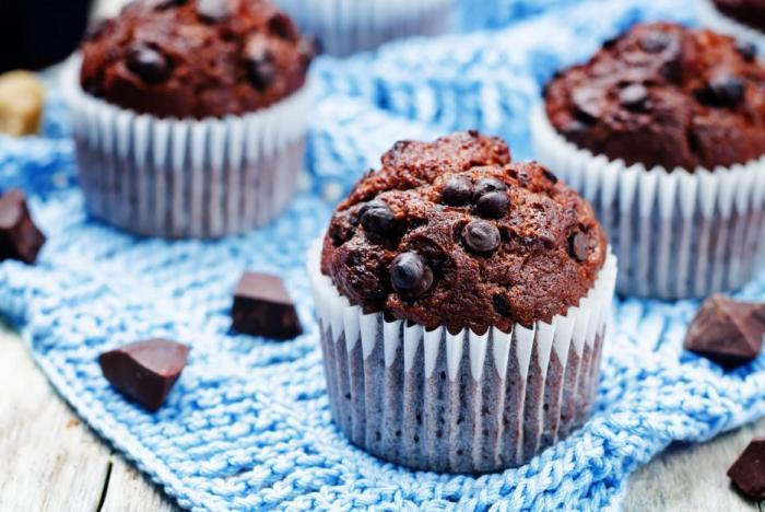 Čokoládové muffiny patří k těm nejoblíbenějším.