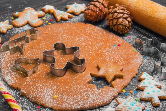 Zázvor se přidává do perníčků i do jiných druhů vánočního cukroví.