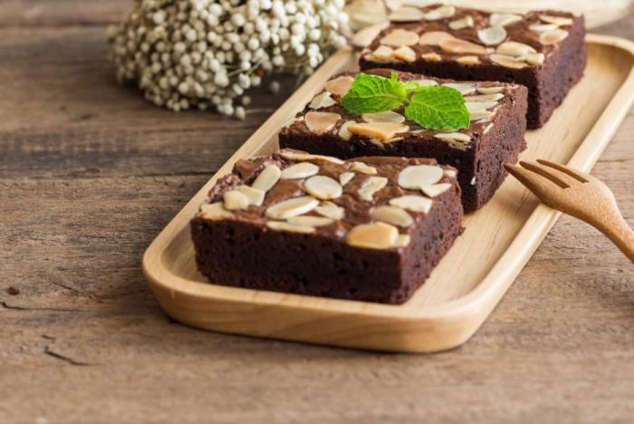 Brownies se dají různě variovat.