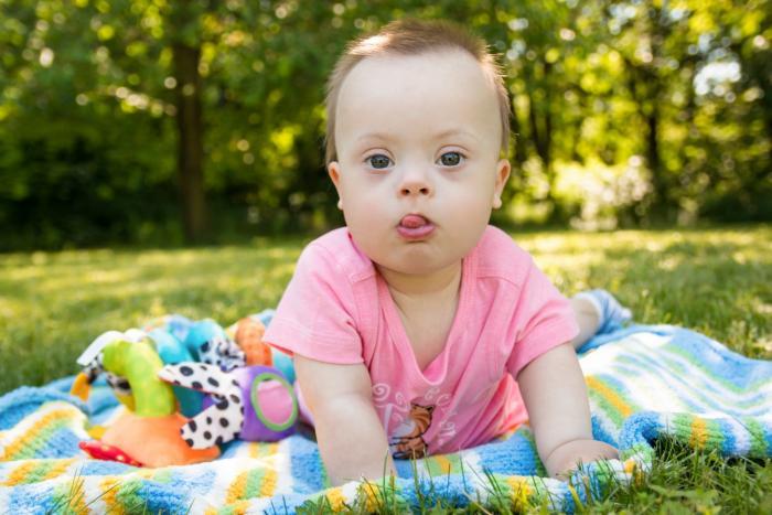 Děti s downovým syndromem jsou navzdory laickým předpokladům učenlivé.