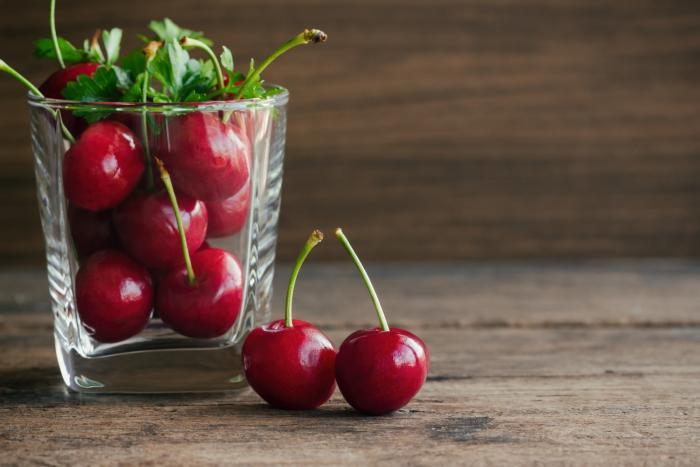 Třešně jsou skvělým antioxidantem. Působí proti tvorbě volných radikálů v organismu.