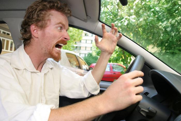 Někteří řidiči se na silnicích nechávají vyprovokovat.