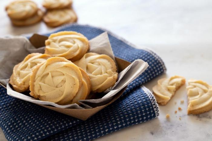 Máslové sušenky jsou evergreen, který neomrzí.