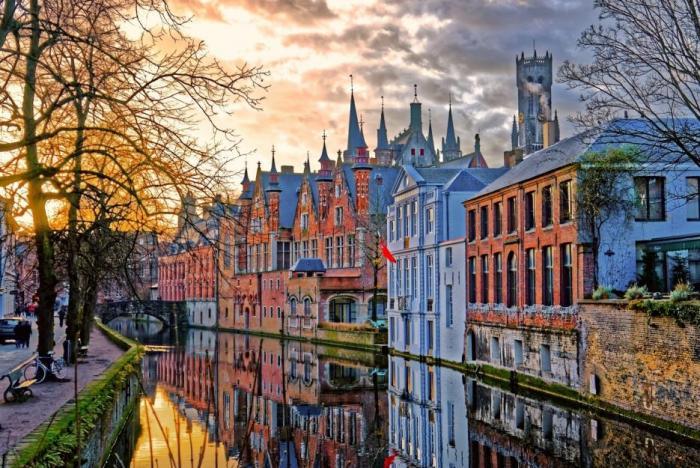 Zamířit můžete za romantikou i do Belgie.