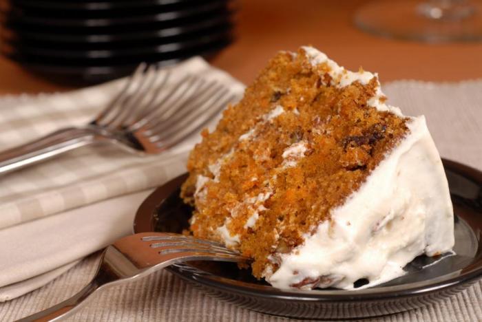 Mrkvový dort můžeš mít s krémem i bez něj.