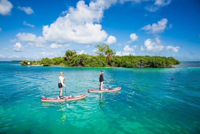 Paddleboard je prkno, na kterém se jezdí na vodě.
